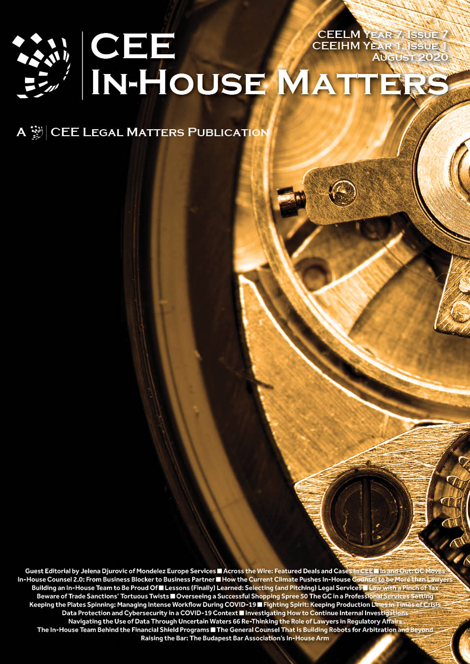 CEE Legal Matters: Issue 7.7 (CEEIHM 1.1.)