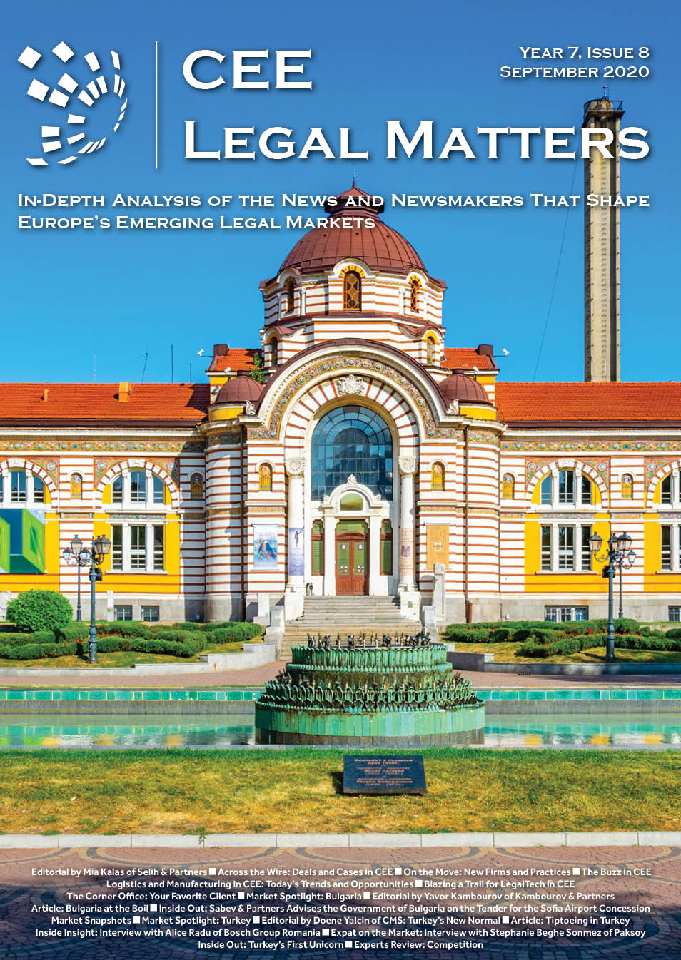 CEE Legal Matters: Issue 7.8